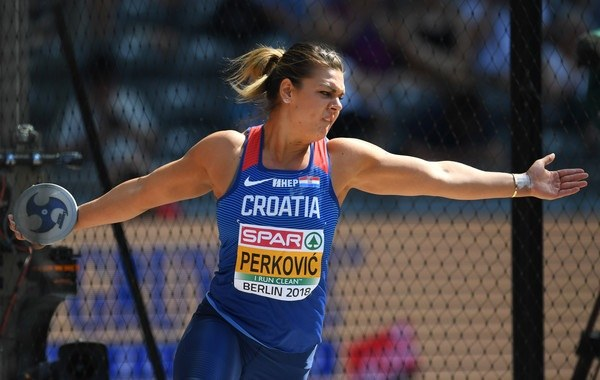 ECH women discus as expected. Perkovic rewrites history!